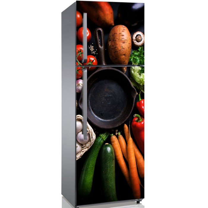 Αυτοκόλλητο Ψυγείου Healthy Living - Decotek 19111