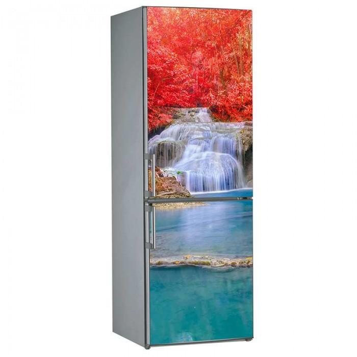 Αυτοκόλλητο Ψυγείου Waterfall - Decotek 17781