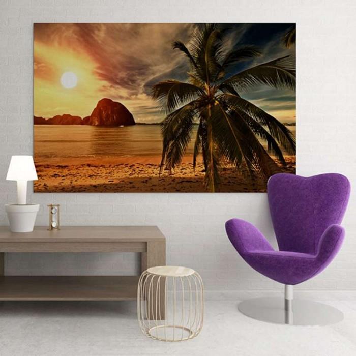 Πίνακας Ζωγραφικής Παραλία - Decotek 11011