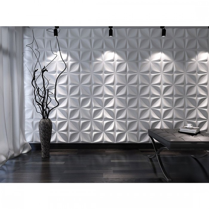 3D Πάνελ - 3D Art Panel - Decotek Flower