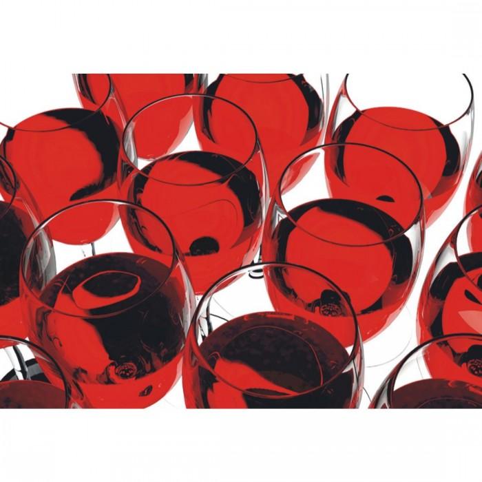 Φωτοταπετσαρία Τοίχου Ποτήρια Κρασί - A&G Design Group - Decotek FT 0081