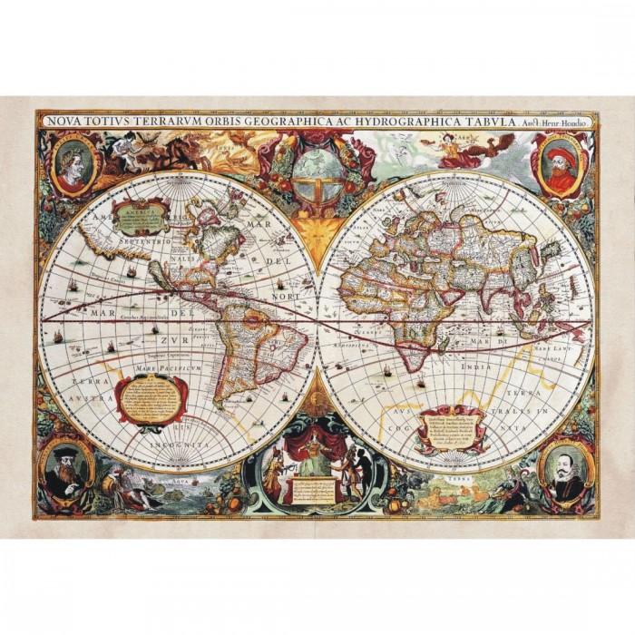 Φωτοταπετσαρία Τοίχου Παγκόσμιος Χάρτης - A&G Design Group - Decotek FT 0350