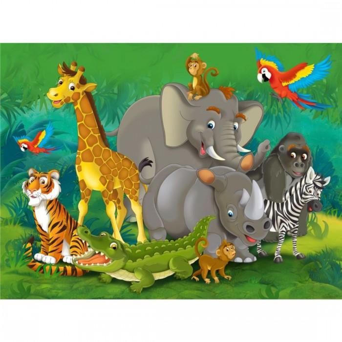 Παιδική Φωτοταπετσαρία Τοίχου Ζωάκια του Δάσους - A&G Design Group - Decotek FT 1460