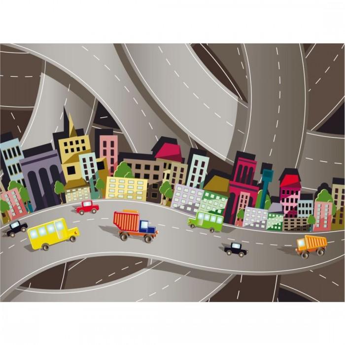 Παιδική Φωτοταπετσαρία Τοίχου Σύγχρονη Πόλη - A&G Design Group - Decotek FT 1461