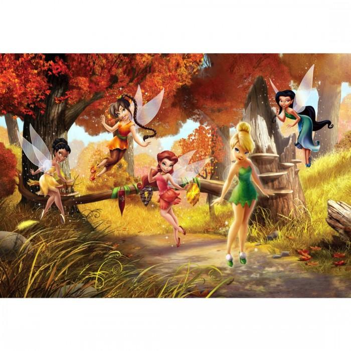 Παιδική Φωτοταπετσαρία Τοίχου Τίνκερμπελ και οι Φίλες - A&G Design Group, Disney & Marvel - Decotek FTD 0251