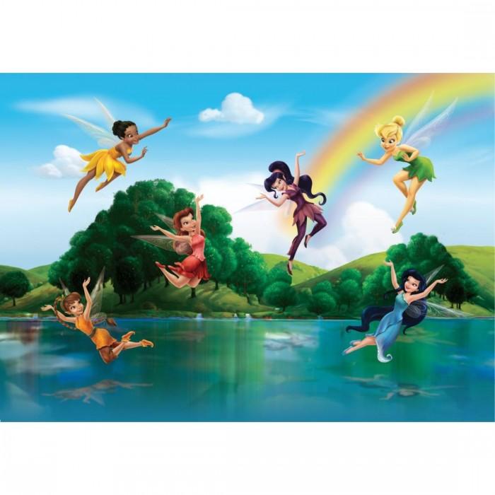 Παιδική Φωτοταπετσαρία Τοίχου Τίνκερμπελ και οι Φίλες - A&G Design Group, Disney & Marvel - Decotek FTD 2222