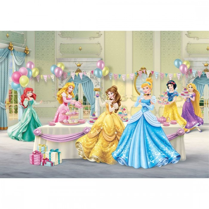 Παιδική Φωτοταπετσαρία Τοίχου Πριγκίπισσες - A&G Design Group, Disney & Marvel - Decotek FTD 2224