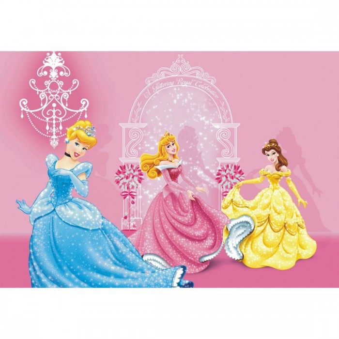 Παιδική Φωτοταπετσαρία Τοίχου Πριγκίπισσες - A&G Design Group - Decotek FTD m 0286
