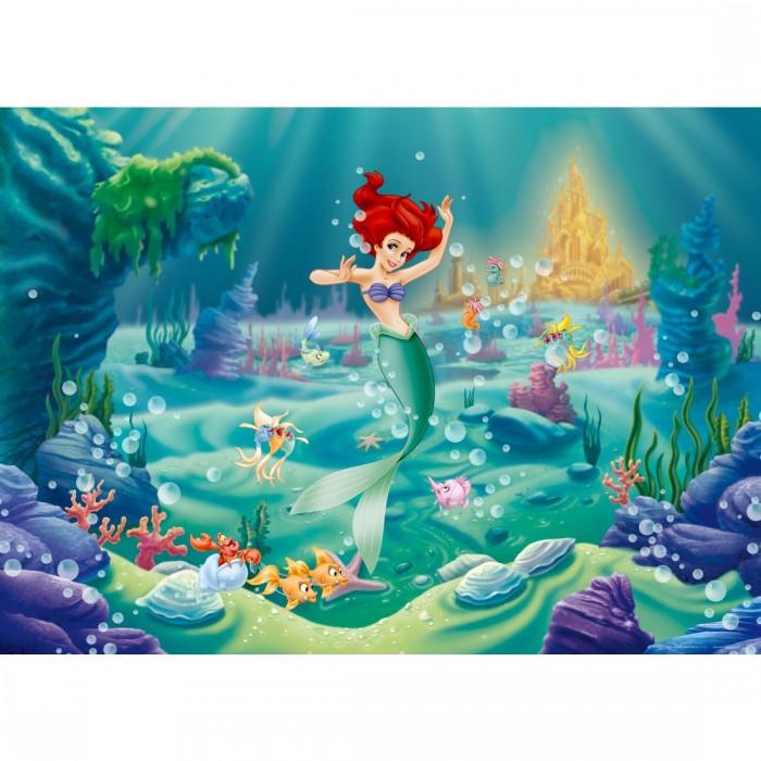 Παιδική Φωτοταπετσαρία Τοίχου Άριελ η Γοργόνα - A&G Design Group, Disney & Marvel - Decotek FTD m 0701