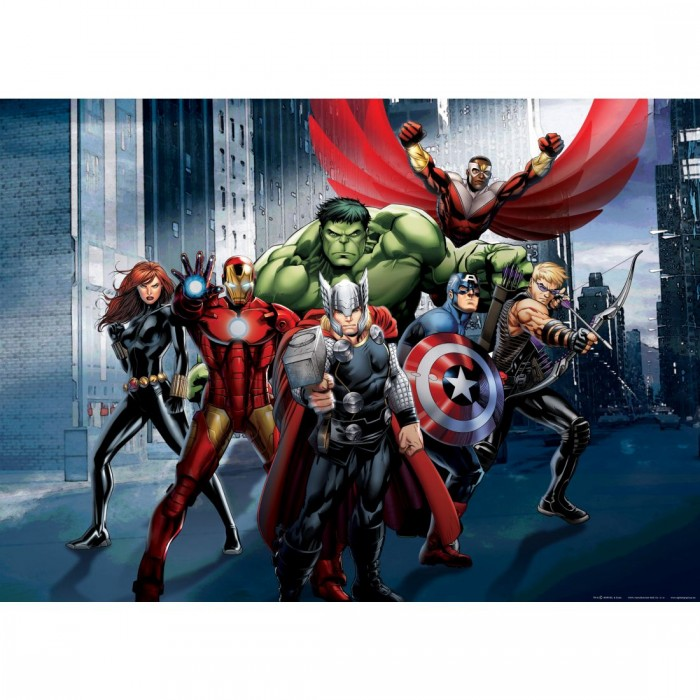 Παιδική Φωτοταπετσαρία Τοίχου Avengers - A&G Design Group, Disney & Marvel - Decotek FTDN M 5277