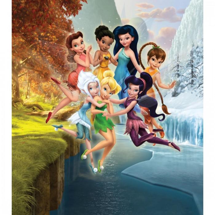 Παιδική Φωτοταπετσαρία Τοίχου Τίνκερμπελ και οι Φίλες - A&G Design Group, Disney & Marvel - Decotek FTDN XL 5105