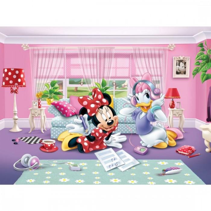 Παιδική Φωτοταπετσαρία Τοίχου Minnie & Daisy - AG Design Group, Disney & Marvel Collection 2014 - Decotek FTD xxl 2229