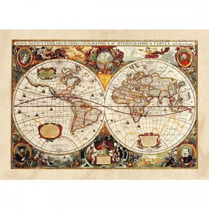 Φωτοταπετσαρία Τοίχου Παγκόσμιος Χάρτης - A&G Design Group - Decotek FTM 0486