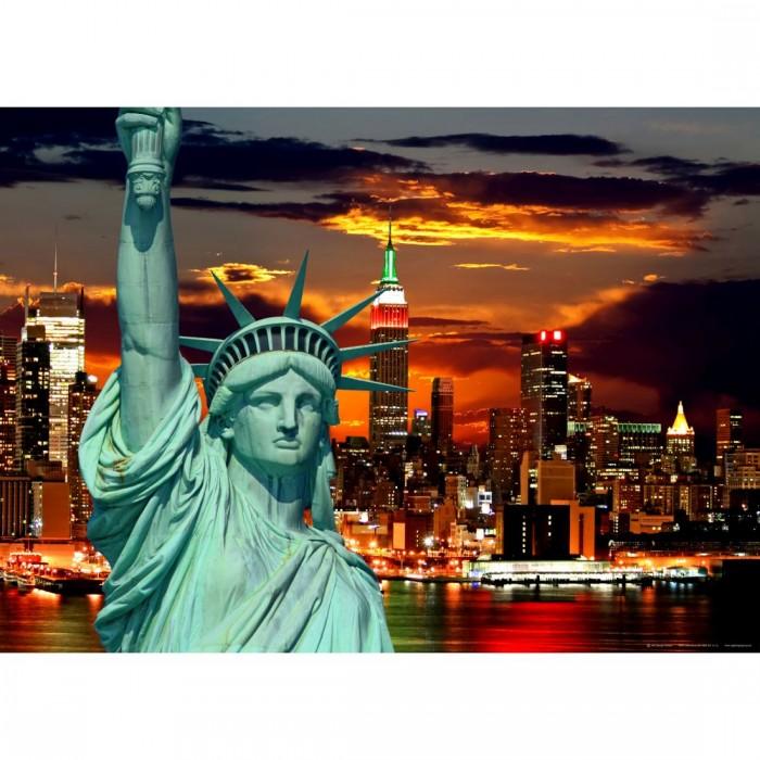 Φωτοταπετσαρία Τοίχου Νέα Υόρκη - A&G Design Group - Decotek FTM 0812