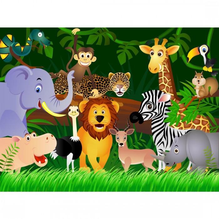 Παιδική Φωτοταπετσαρία Τοίχου Ζωάκια του Δάσους - A&G Design Group - Decotek FTS 1307