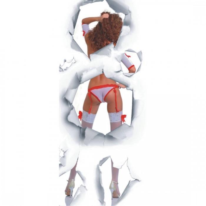 Φωτοταπετσαρία Πόρτας & Τοίχου Χορέυτρια - A&G Design Group - Decotek FTV 0036