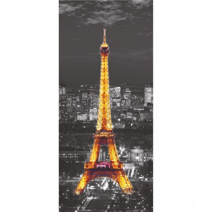 Φωτοταπετσαρία Πόρτας & Τοίχου Παρίσι - A&G Design Group - Decotek FTV 1526