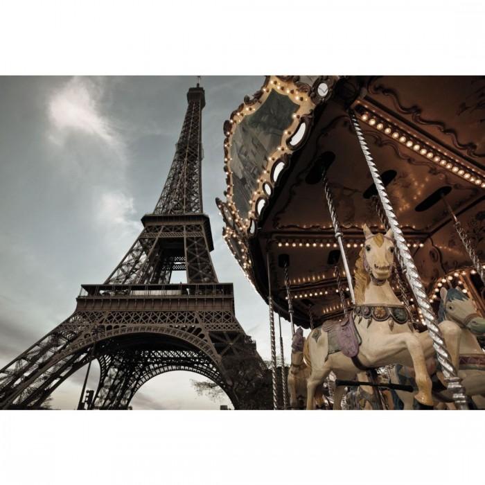 Φωτοταπετσαρία Τοίχου Καρουζέλ στο Παρίσι - Komar - Decotek 1-602