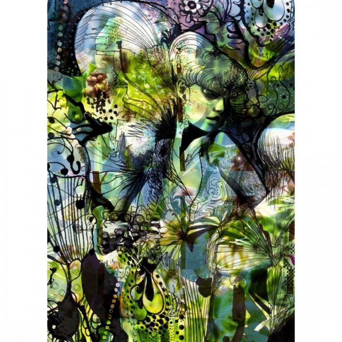 Φωτοταπετσαρία Τοίχου Κήπος - Komar - Decotek 4-915