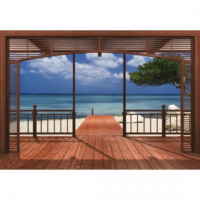 Φωτοταπετσαρία Τοίχου ο Παράδεισος - Komar - Decotek 8-101