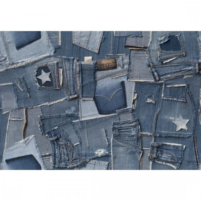 Φωτοταπετσαρία Τοίχου Τζίνς - Komar - Decotek 8-909