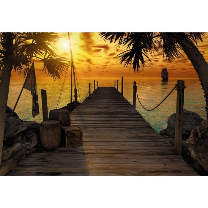 Φωτοταπετσαρία Τοίχου Νησί του Θυσαυρού - Komar - Decotek 8-918