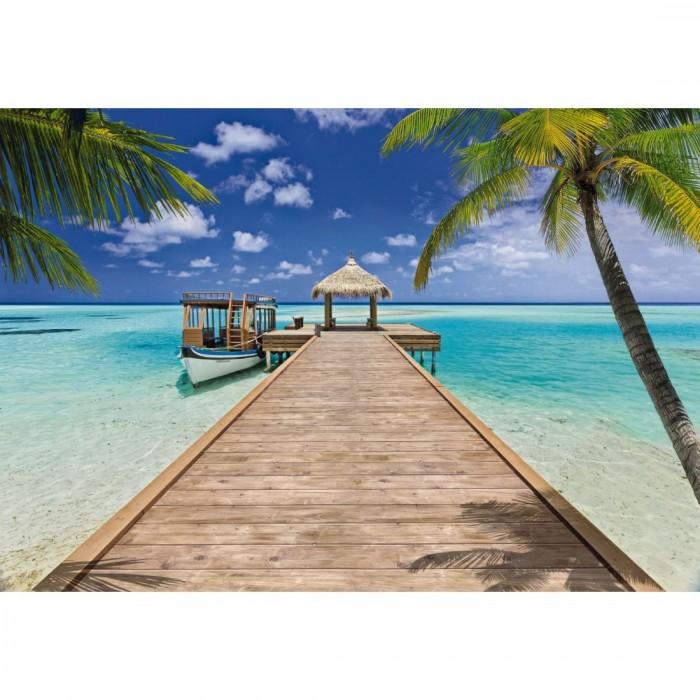 Φωτοταπετσαρία Τοίχου Παραλία από τις Μαλδίβες. - Komar - Decotek 8-921