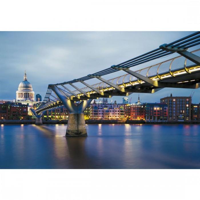 Φωτοταπετσαρία Τοίχου Γέφυρα Millennium Λονδίνο - Komar - Decotek 8-924