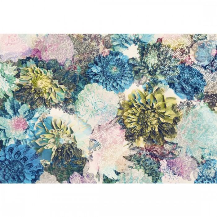 Φωτοταπετσαρία Τοίχου Ανοιχτόχρωμα Λουλούδια - Komar - Decotek 8-941