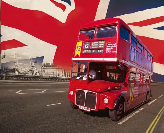 Φωτοταπετσαρία Τοίχου Λονδίνο - 1wall - Decotek LONDON-A-004