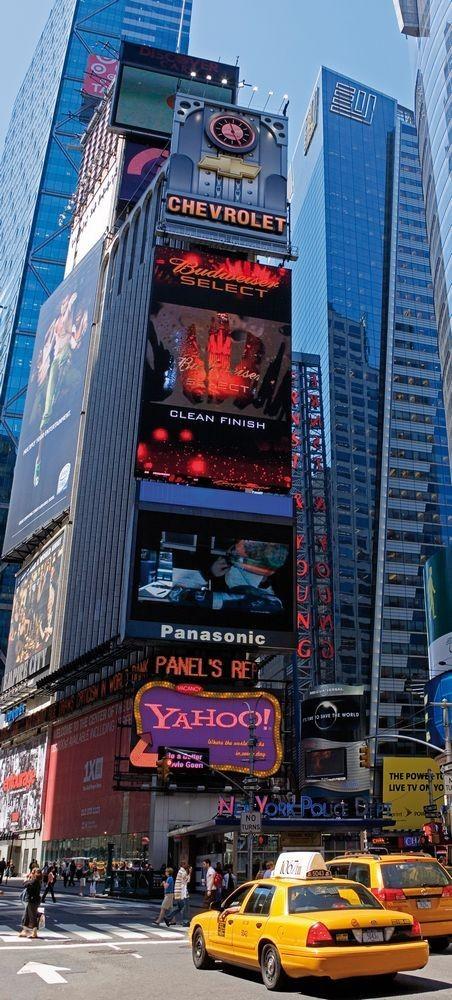 Φωτοταπετσαρία Πόρτας Νέα Υόρκη - 1wall - Decotek NEWYORK-D-002