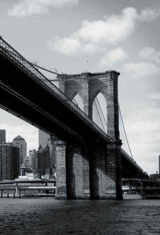 Φωτοταπετσαρία Τοίχου Γέφυρα του Μπρούκλιν - 1wall - Decotek NEWYORK-TP-008