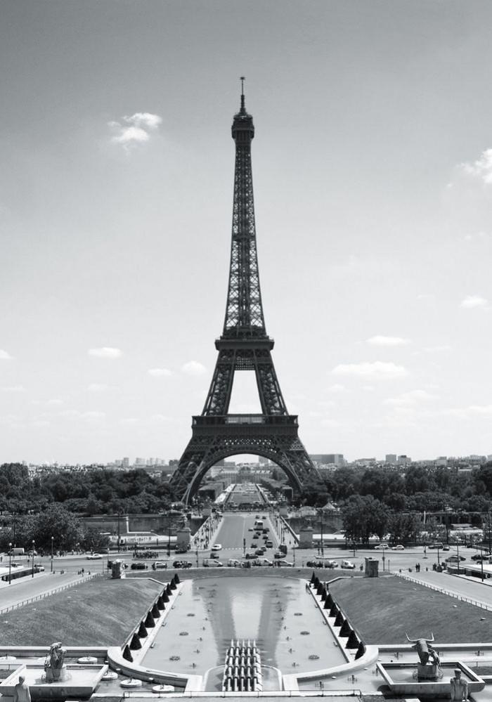 Φωτοταπετσαρία Τοίχου Παρίσι - 1wall - Decotek PARIS-TP-001