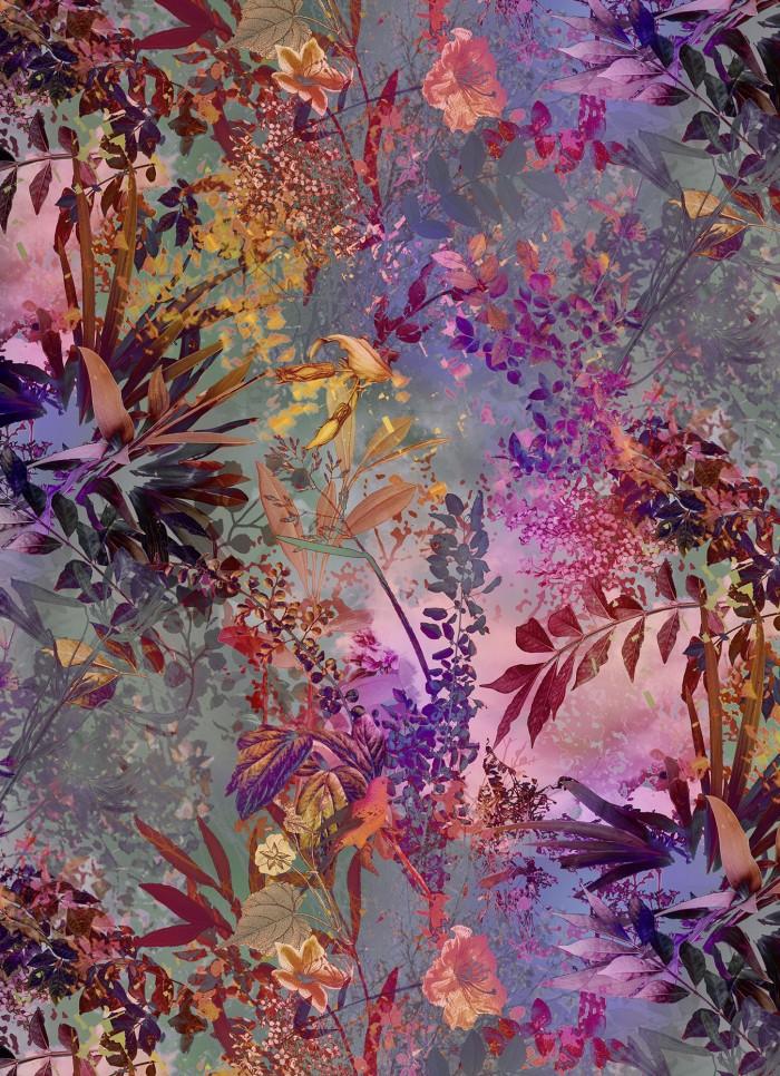 Φωτοταπετσαρία Τοίχου Άγρια Λουλούδια - Komar - Decotek 4-211