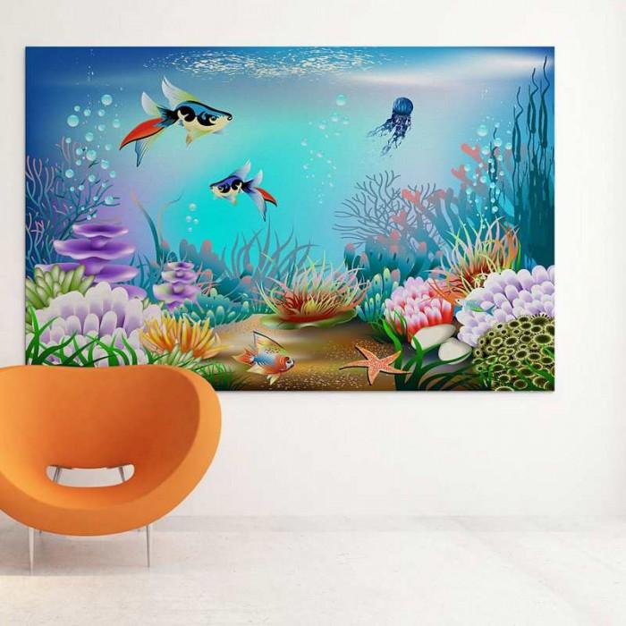 Παιδικός Πίνακας Ζωγραφικής Underwater World - Decotek 16025