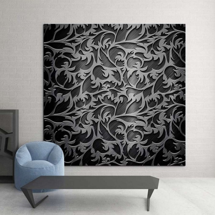 Πίνακας Ζωγραφικής Metal Pattern - Decotek 15191