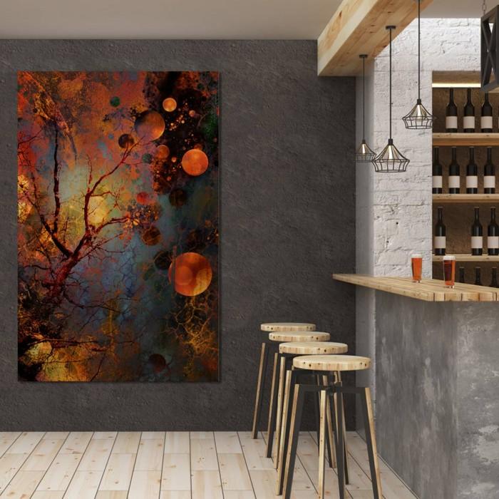 Πίνακας Ζωγραφικής Abstract Tree – Decotek 180508