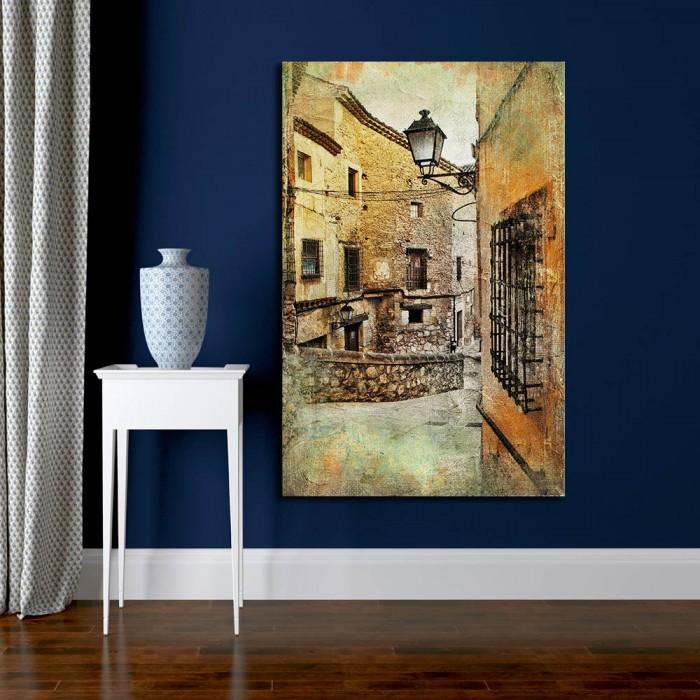 Πίνακας Ζωγραφικής Streets Of Medieval Spain – Decotek 180552