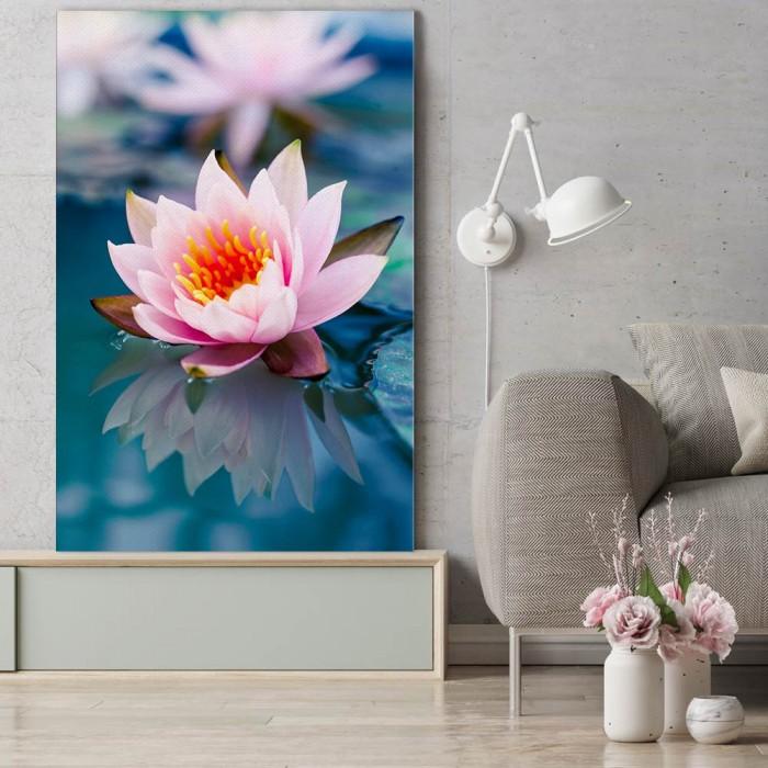 Πίνακας Ζωγραφικής Water Flower – Decotek 180562