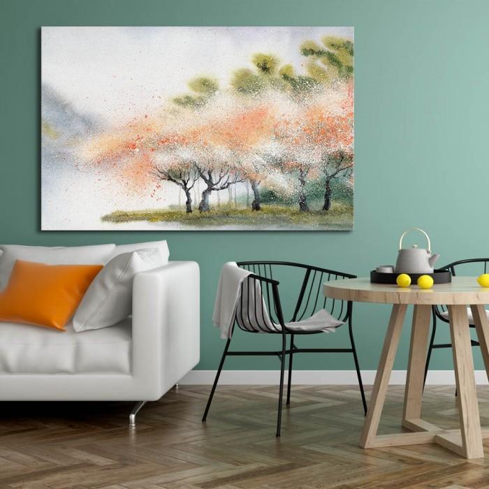 Πίνακας Ζωγραφικής Blooming Forest - Decotek 180675