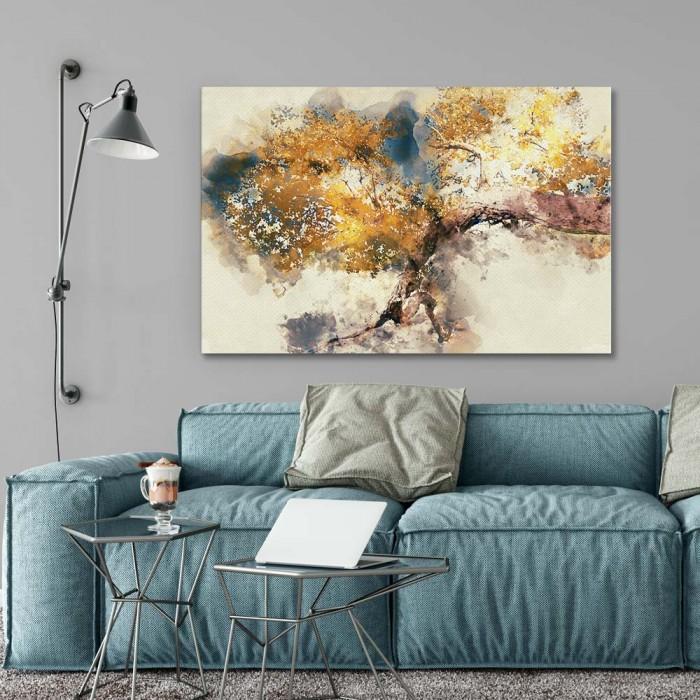 Πίνακας Ζωγραφικής Tree Oil Painting - Decotek 181090