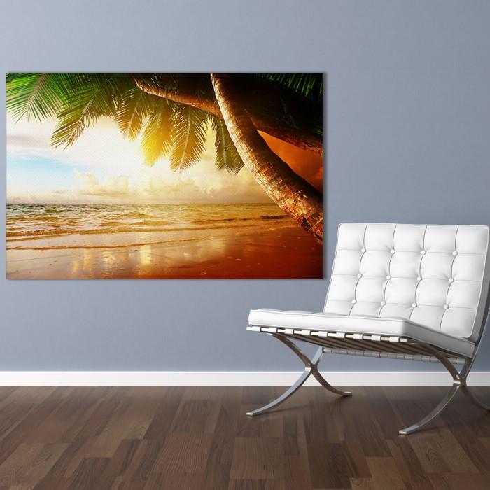 Πίνακας Ζωγραφικής Tropical Sunset - Decotek 181093