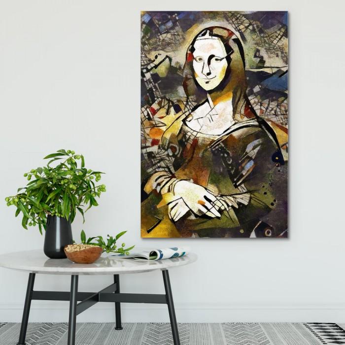 Πίνακας Ζωγραφικής Alternative Mona Lisa – Decotek 190830