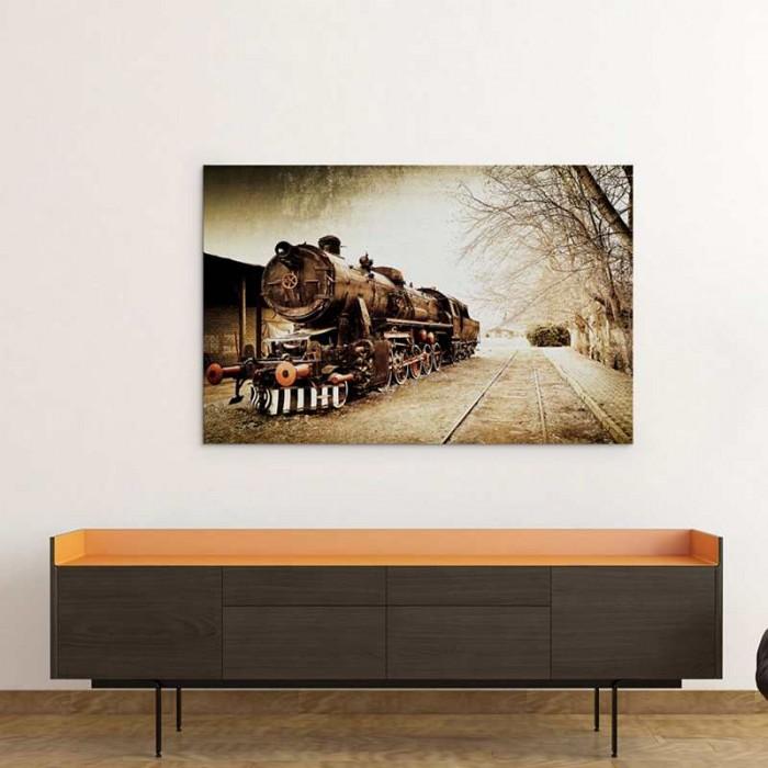 Πίνακας Ζωγραφικής Old Train - Decotek 16247