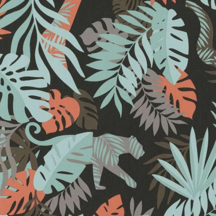 Ταπετσαρία Τοίχου Ζούγκλα - Bn International, #Smalltalk - Decotek 219304