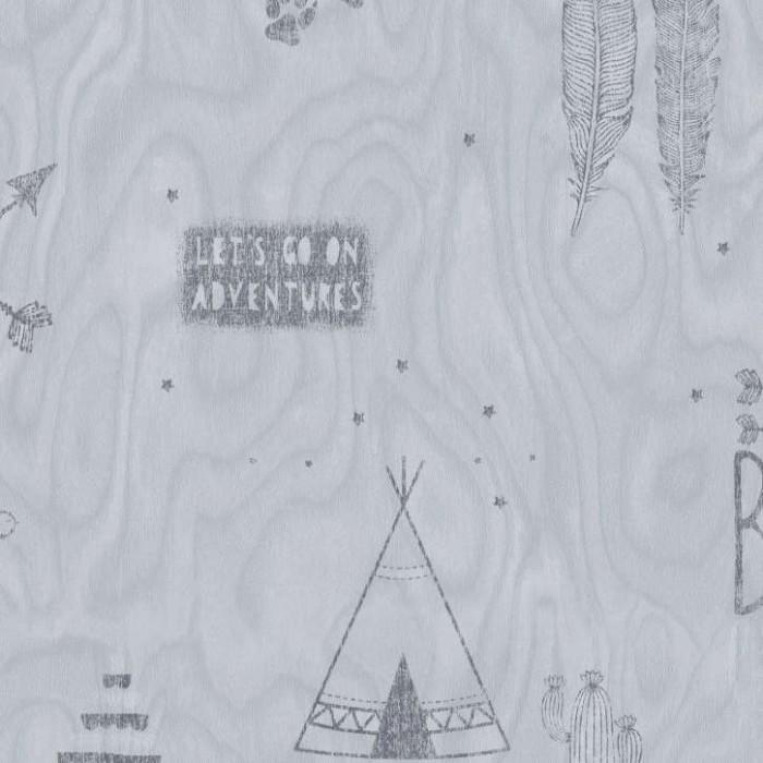 Ταπετσαρία Τοίχου Ινδιάνικο Σχέδιο - Bn International, #Smalltalk - Decotek 219321