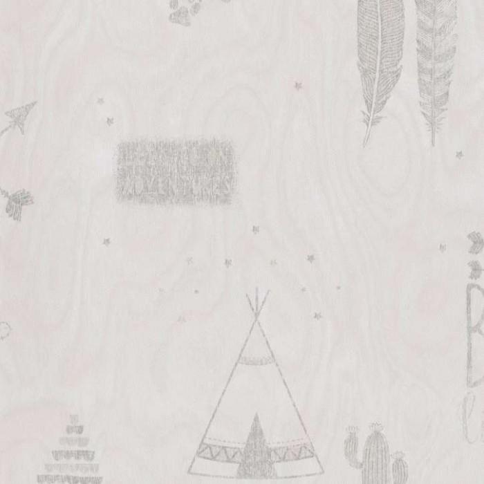 Ταπετσαρία Τοίχου Ινδιάνικο Σχέδιο - Bn International, #Smalltalk - Decotek 219322