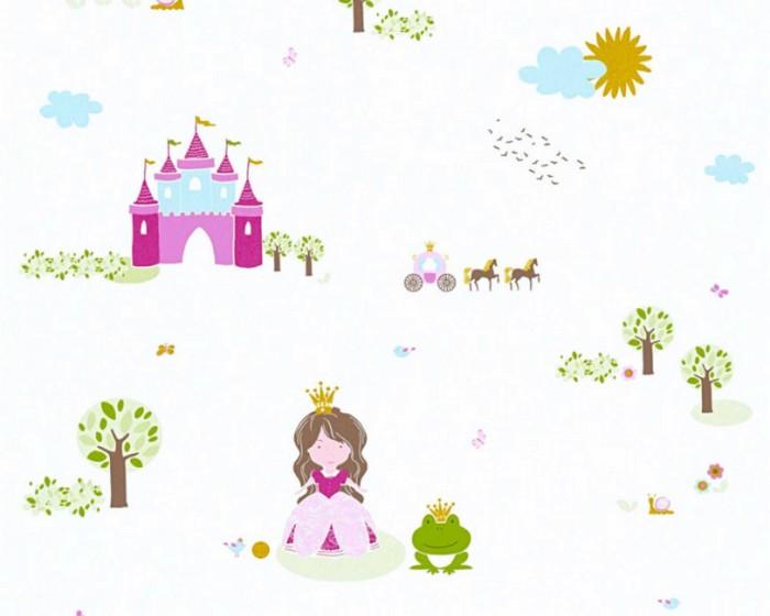 Παιδική Ταπετσαρία Τοίχου Πριγκίπισσες  – AS Creation, Little Stars – Decotek 358522