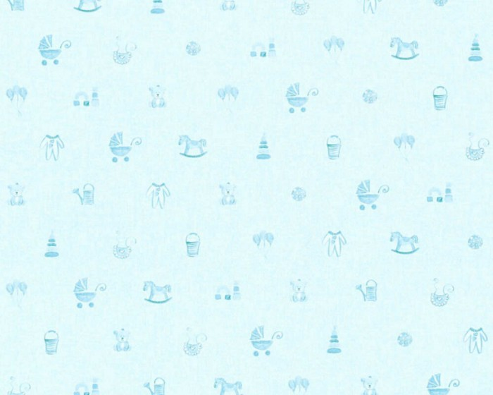 Παιδική Ταπετσαρία Τοίχου Μπεμπέ  – AS Creation, Little Stars – Decotek 358542