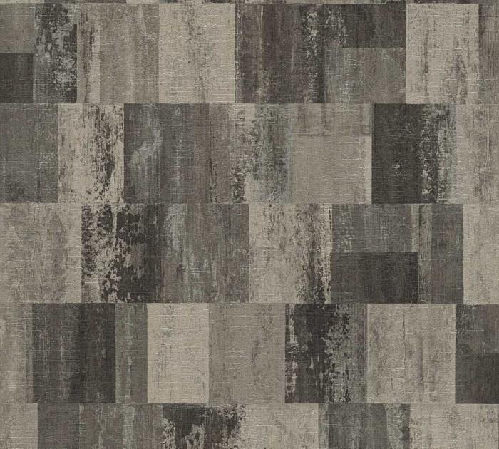Ταπετσαρία Τοίχου Γεωμετρικά Σχήματα – Living Walls, Titanium 2 – Decotek 360024